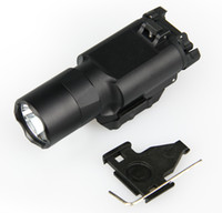 Wholesale tactical flashlight for picatinny rail resale online - Factory Sell Tactical X300U Ultra LED Light Pistol Lanterna Airsoft Flashlight with Picatinny Rail for Hunting CL15