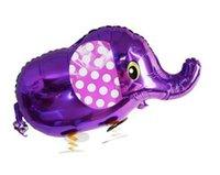 balão inflável do animal de estimação venda por atacado-Girafa dinossauro Andando Pet Balão Animal Balão Inflável Alumínio Andando Pet Balloon Decoração de Natal Crianças Brinquedos