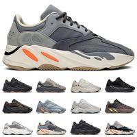 botas de tênis venda por atacado-adidas yeezy 700 v2 boost  preto branco athletic ao ar livre Esportes Jogging trainer velocidade mulheres sneaker tamanho 41.5-45
