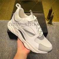 zapatos para caminar al por mayor-2019 Nuevo diseñador de lujo Homme B22 Trainer Sneaker Moda Diseñador de lujo Mujeres Hombres Papá Zapatos Zapatillas de deporte Vestido para caminar Zapatos casuales Zapatillas de deporte