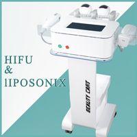 Wholesale anti aging beauty machine for sale - Group buy 2 in hifu Beauty Equipment hifu face lift wrinkle removal anti aging hifu liposonix body slimming machine