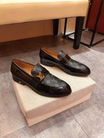 Wholesale shoes man grade resale online - NEW FASHION LUXURY DESIGN GENUINE LEATHER MEN ANKLE BOOTS HIGH GRADE TOP LACE UP MEN DRESS SHOES BLACK BROWN BASIC BOOTS MEN HY700