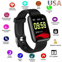 Wholesale android wrist watch mobile phone for sale – best Smart watch heart rate blood pressure waterproof smart sports watch sports bracelet compatible with HuaweiSamsung Apple mobile phone Android