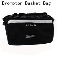 ingrosso tessuto asso-ACE Bike Basket Bag per Brompton Vegetable Basket DuPont Tessuto impermeabile per Brompton Bag # 79395