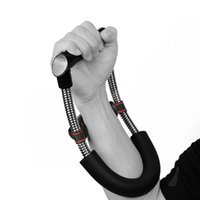 Wholesale black hand grips resale online - A236X Grip Power Wrist Forearm Hand Grip Exerciser Strength Training Device Fitness