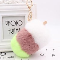 Wholesale giveaways for baby shower resale online - 20pcs Baby Shower Party Favors Guest Giveaway Ice Cream Keychains Personalized Christmas Gift For Wedding Souvenir