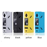 Wholesale fog accessory online - Magnetic Back Electronic Cigarette Battery Box Big Fog Display Screen Vape Accessories Replaceable Box Mod