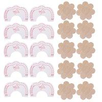 schönheit nippel großhandel-Instant Lift + Nipple Cover Heben Schönheit Brust Bh Aufkleber Invisible Adhesive Bhs Brust Aufkleber Lift für Frauen Geschenk