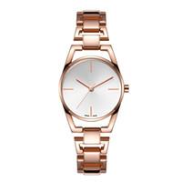 chine chaude achat en gros de-Acier inoxydable 2019 Nouvelles ventes chaudes de la mode des femmes de montres à quartz Casual Wristwatch noble table femelle chine pas cher montres en gros