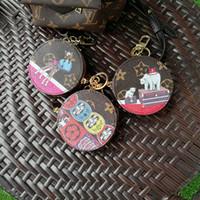 ingrosso borse uccelli-Moda pelle PU amore uccello portachiavi in lega portachiavi gioielli animali per le donne ragazze sacchetto auto amuleti regalo Pet