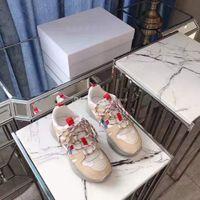 zapatos especiales aumentan la altura al por mayor-Zapatos de calidad oficial perfectos Isabel Kindsay Plataforma gruesa Zapatillas de deporte para excursionistas Cuero genuino Nuevas zapatillas de lujo Paris Marant Kindsay