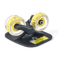 ingrosso ponte in alluminio-Twolions Classic Drift Board in alluminio per ruote Freeline Led Roller RoadDrift Skates Antiscivolo Skateboard Deck Freeline Skates