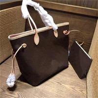 2019 hot Famous Classical 3 colors Top quality famous women casual tote bag with wallet PU leather handbags bags.