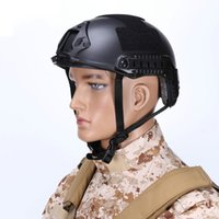 Wholesale wargame paintball resale online - Protective Fast MH Style Tactical Paintball Wargame Helmet Army Outdoor Motorcycle Helmet