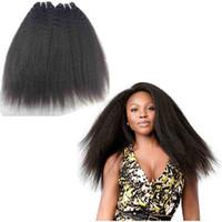 işlenmemiş indian remy saç atkısı toptan satış-Brezilyalı Perulu Hint Malezya İnsan Saç 3/4/5 Demetleri Doğal Sapıkça Düz Bakire Saç Atkı 9A Işlenmemiş Remy Saç Dokuma Ücretsiz