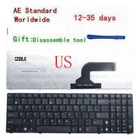 Wholesale x61 laptop for sale - New US Keyboard for ASUS K53 K53E X52 X52F X52J X52JR X55 X55A X55C X55U K73 K73B K73E K73S X61 NJ2 Laptop