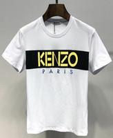 camisas de tiempo al por mayor-Tigre venta caliente camisa hombres xxl WeaKenzoImpresión de greenback Envío gratis Leisure Time Show Solicitude para carta moda camiseta