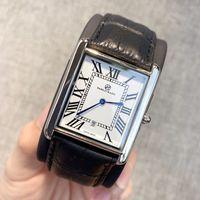 relógio quadrado de couro dos homens venda por atacado-PABLO Ráez de Moda de Nova quadrado Dial luxo Quartz homens relógios de couro do esporte relógios de alta qualidade mulheres Relógio Relógio de pulso amantes Unisex Relógios