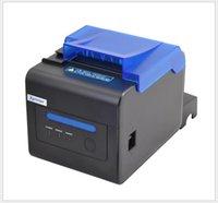 ingrosso stampante automatica-XP-C300H stampante termica per biglietti 80MM piccola cucina singola per pranzare suono e allarme luminoso carta da taglio automatica