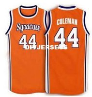 Wholesale throwback college basketball jerseys resale online - Cheap Derrick Coleman Syracuse Orange Vintage Basketball Jersey College Throwbacks Stitched Jerseys Customized Any Name And Nu