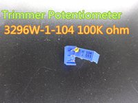 Wholesale 10pcs New Trimmer Potentiometer W W K ohm ohm Trim Pot Trimmer Potentiometer in stock