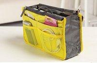 ingrosso sacchetti di pannolini gialli-Multifunzione portatile con cerniera doppio organizer multifunzione