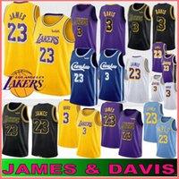 çocuklar 14 toptan satış-23 James Anthony 3 Davis'in formaları 32 Johnson Kobe 8 24 Bryant Kyle 0 Kuzma Lonzo 2 top Brandon 14 Ingram Kid Basketbol Sıcak Formalar LeBron