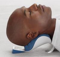 ingrosso cuscino massaggio del collo di massaggio-Nuovo cuscino per testa e collo Massaggio collo Cuscino rilassante Massaggio spalla Protezione cuscino Rilassamento cervicale della spalla