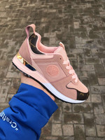 Wholesale dress shoes ribbon for sale - Group buy New Arrival Women Luxury Dress Shoes Sneakers Designer Trainers Womens Top Quality Sports Casual Shoes