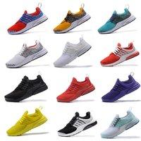 kadın balerin satışı toptan satış-Yeni Presto Altın Safari Koşu ayakkabı sıcak satış Erkekler Kadınlar blacke Beyaz Oreo Acımasız Bal sarı kırmızı Spor Koşucu sneakers Ayakkabı abd 7-12