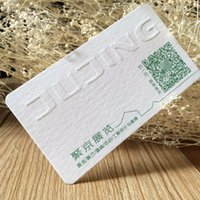tarjetas de algodón al por mayor-Tarjeta de visita grabada en relieve modificada para requisitos particulares del papel de algodón de la impresión, tarjeta de visita de lujo