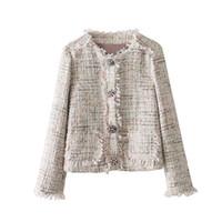 оборка оптовых-блейзер женщин блестка вечерние Индио контрастными рюшами манжеты Blazer женщины воротника однобортный пиджак