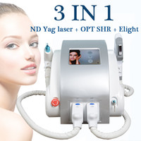 Wholesale rf machines for face for sale - Group buy yag tattoo removal machines Eligt ipl rf nd yag laser beauty salon equipment for sale elight ipl rf