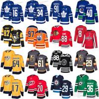 camisetas de zuccarello venda por atacado-2019 Toronto Maple Leafs Vegas Golden Knights 61 Mark Stone estrelas 36 Zuccarello Nashville Predators 17 Simmonds 64 Granlund camisola do hóquei