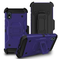 Wholesale galaxy s6 holster for sale – best For Samsung S10E S9 S8 S7 S6 Plus Note J3 J7 J8 Rugged Tough Clip Holster Kickstand Feature Protective Case Cover