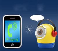 iphone bluetooth amplifikatörü toptan satış-Taşınabilir Bluetooth Hoparlör Stereo Bas Ses Amplifikatör Hoparlörler Çocuklar Için Karikatür Hediye Için Mic Ile Cep Telefonu xiomi iphone bilgisayar