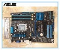 desktop ddr3 al por mayor-Placa base Asus P8Z77-V LX2 original DDR3 LGA 1155 32GB Z77 SATA II SATA III Desktop Motherboard