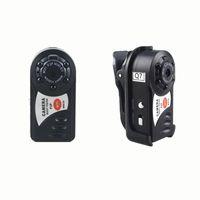 led-kamera-videorecorder dv großhandel-Mini tragbare P2P WiFi IP Kamera Indoor / Outdoor HD DV Kamera Video Recorder Sicherheit für IOS / Android Telefon PC Remote View Q7 4