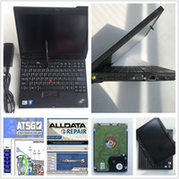 toque reparação tela mitsubishi venda por atacado-Mais novo Auto Repair Alldata Soft-ware V10.53 + Mit on demand 5 + ATSG em 1 TB HDD instalado usado laptop X200T tablet touch screen PC