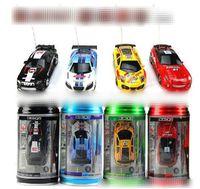 mini yarışçılar toptan satış-Yeni 8 renk Mini-Racer Uzaktan Kumanda Araba Coke Mini RC Radyo Uzaktan Kumanda Mikro Yarış 1: 64 Araba 8803 BY1243