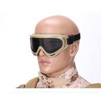 ingrosso lenti a balestra-Impact Goggles Paintball Gafas Protectoras De Seguridad X400 Malla De Acero Gafas Protectoras P-31