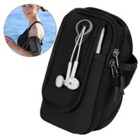 Wholesale arm band phone holder for sale - Group buy Multifunctional Phone Holder Arm Bag Cell Phone Arm Band Workout Sports Pocket for Walking Hiking Running Biking