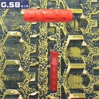 Wholesale 3d paintings free wallpaper for sale - Group buy quot inch Roller Wallpaper Roller Paint Tool Sets model Reliefs Paint Rollers d rubber Liquid Wallpaper NO