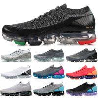 Wholesale rainbow 45 for sale - 2019 New BHM Rainbow Fly V1 V2 Men Women Running Shoes Red Orbit Oreo Asphalt Grey Designer Mens Jogging Sneakers Size