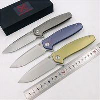 kahverengileşen 338 av bıçağı toptan satış-Ücretsiz nakliye, Yeni YX-750 orijinal ücretsiz kargo patlatma kaymaz gri titanyum kolu bıçak VG-10 avcılık açık survival çakı EDC
