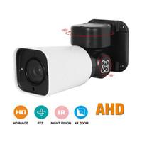 ingrosso ir ip66 macchina fotografica a bullet-1080P AHD PTZ Camera 4X Zoom Bullet Camera Full HD Pan Tilt Ruota IP66 impermeabile IR 50M AHD CVI TVI Analog CVBS 4in1