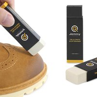 Wholesale rubber erasers resale online - Convenient practical clean eraser rubber for leather shoes wipe contains decontamination particles wash free quick clean not damage shoes