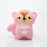 kinder spielzeug für verkauf porzellan großhandel-China 2019 Hot Sale steigt langsam matschig 10CM Eichhörnchen Druckentlastung matschig Schleim Spielzeug für Kinder kneten Spielzeug
