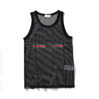 Wholesale white tank vest tops for sale - Group buy Tank Top for Men Sport Bodybuilding Brand Gym Clothes Designer Women Vests Tee Luxury Summer Tops M XXL