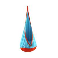 ingrosso swing furniture-8 colori creativo per bambini amaca mobili da giardino altalena sedia coperta appesa all'aperto per bambini altalena mobili per la scuola materna CCA11695 1 pz